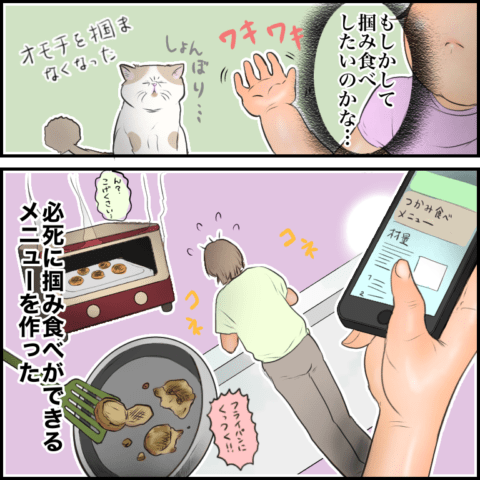 ムチコ ほっこりしない猫と育児 20