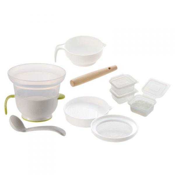 ママベスト 2021 離乳食調理セット リッチェル 調理器セット E