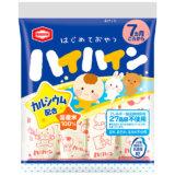 要出典 ママベスト 2021 赤ちゃんのはじめてのおやつ 亀田製菓