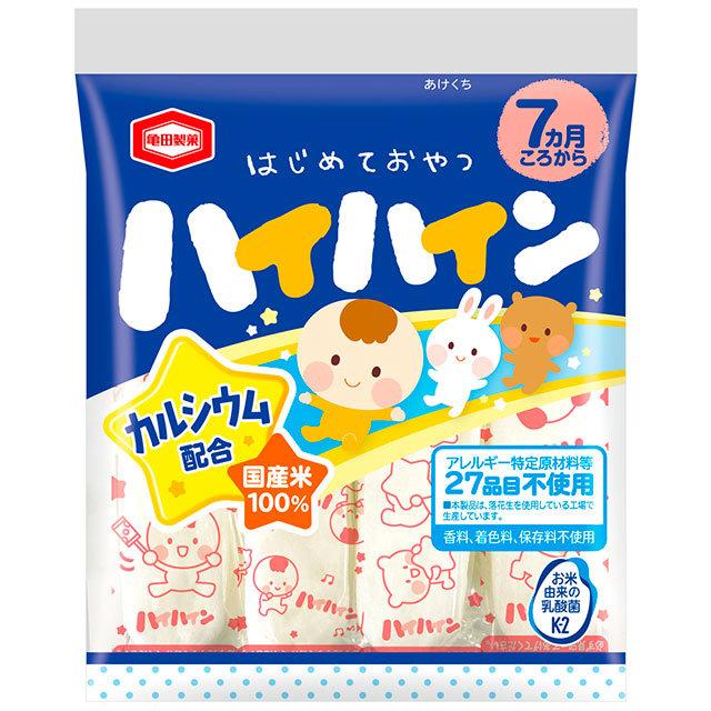 ママベスト 2021 赤ちゃんのはじめてのおやつ 亀田製菓