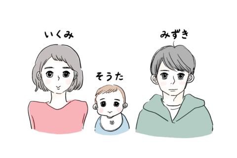 今日からママとパパになる 登場人物