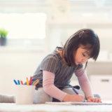 宿題 お絵かき 子供 アイキャッチ