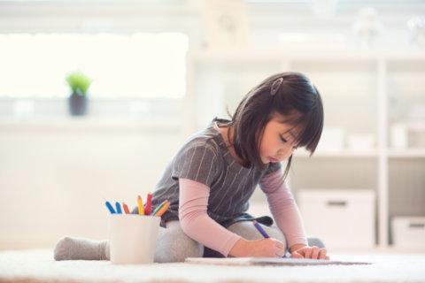 宿題 お絵かき 子供