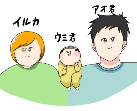 イルカさん 登場人物紹介