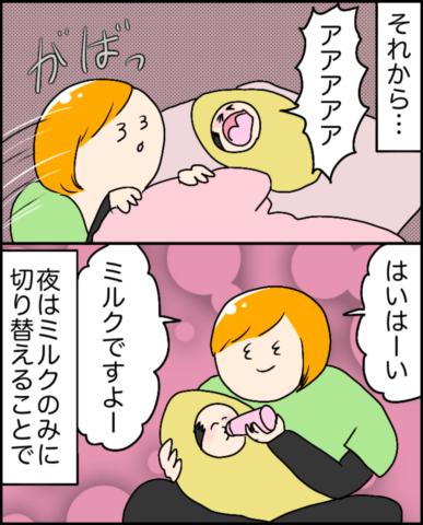 イルカさん 夜間授乳 3
