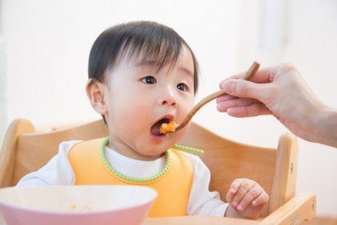 離乳食 赤ちゃん 男の子