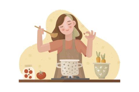 イラスト 料理